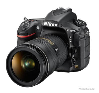 Nikon D810 zepředu