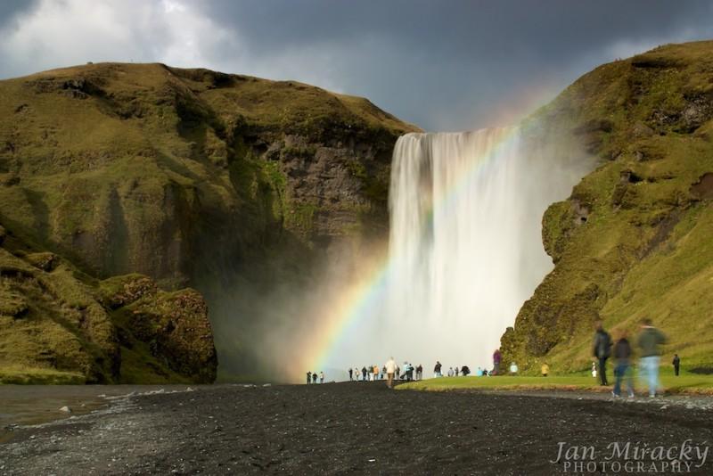 Waterfall Skógafoss