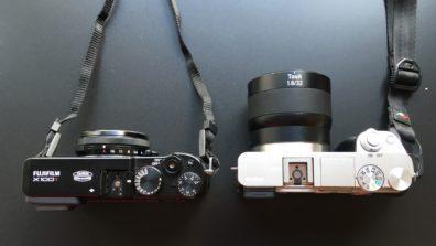 Fujifilm X100T vs Sony a6000