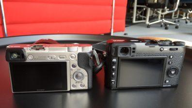 Sony a6000 vs Fujifilm X100T
